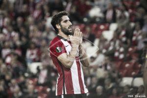 Séptimo estreno de Raúl García en Europa League