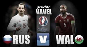 Previa Rusia - Gales: ganar o ganar