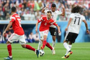 Tumbangkan Mesir, Rusia Pastikan Tiket ke Babak 16 Besar