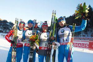 Biathlon: a Le Grand Bornand staffetta alla Russia di Shipulin