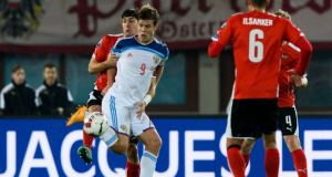 Austria 1 Russia 0: Super sub Okoitie keeps Austria top of the group
