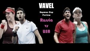Hopman Cup Group B Preview: Russia vs USA
