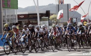 Fotos e imágenes de la ruta élite femenina del Mundial de ciclismo de Ponferrada 2014