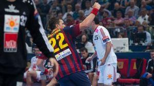 Rutenka y Sarmiento dan la final de consolación al Barcelona