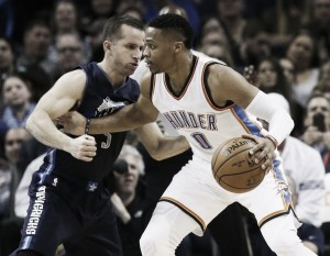 Los Mavericks vencen a Oklahoma City en un gran final