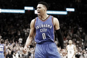 Russell Westbrook agrees new three-year deal with the Oklahoma City Thunder