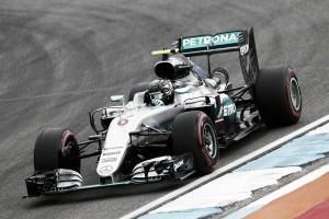 Nico Rosberg comienza mandando en el Gran Premio de Alemania