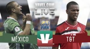 Resultado y goles del México 3-1 Trinidad y Tobago del Hexagonal Final 2017
