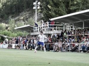 El Real Zaragoza golea en el primer partido de la pretemporada