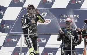 """Valentino Rossi: """"Hoy fue un gran día para todos los aficionados de MotoGP"""""""