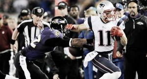Resultado Baltimore Ravens vs New England Patriots (31-35)
