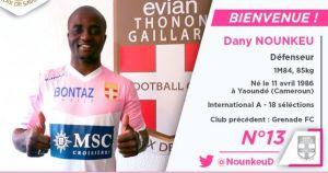 Nounkeu, nuevo jugador del Evian