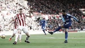 Stoke City y Leicester se reparten los puntos en un gran encuentro