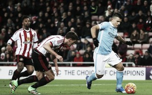 Sunderland 0-1 Manchester City: Agüero extends scoring run as Citizens edge closer to summit