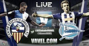 Sabadell - Deportivo Alavés en directo online (2-1)
