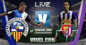 CE Sabadell - Real Valladolid en directo online