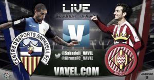 Sabadell - Girona en directo online