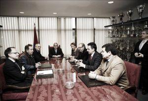 Sabalza ya es el nuevo presidente de Osasuna