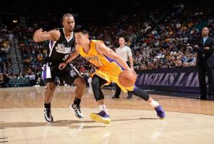 Sacramento Kings Make A Late Push To Beat The Los Angeles Lakers