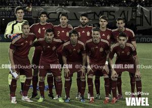 Fotos e imágenes del partido amistoso España Sub21 2-0 Noruega Sub21