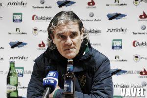 "Rafa Sáez: ""Es difícil remontar un 2-0 fuera de casa"""