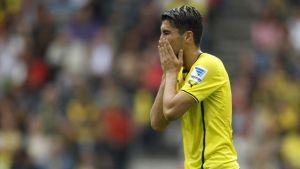 Turkish international Nuri Sahin ruled out for three weeks