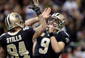 Brees sigue brillando y Saints humilla a Dallas con récords