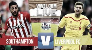 Southampton vs Liverpool Live Commentary and EPL Scores 2015
