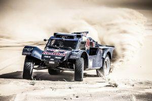 Dakar 2014: Sainz y De Villiers, a la expectativa de los grandes