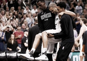 Com ruptura no quadríceps, Tony Parker está fora do restante dos playoffs