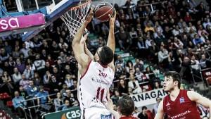 Burgos venció y convenció en Zaragoza
