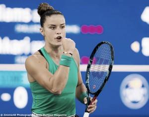 WTA San Jose: Maria Sakkari stuns Venus Williams in straight sets