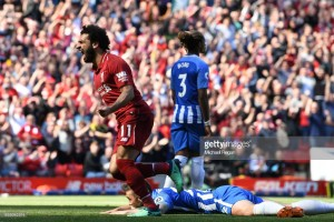 Liverpool 4-0 Brighton: Reds sign off for Kiev with stunning display