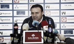 Salmerón: ''Preparamos el partido pensando en lo que haremos en el campo''