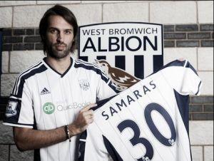 Samaras se une al West Brom