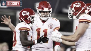 NFL KICKOFF - I Kansas City Chiefs aprono la stagione con una vittoria a sorpresa sui Patriots