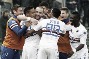 La Sampdoria conquista Bérgamo