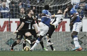 Diretta Udinese - Sampdoria in risultato partita Serie A (1-4)