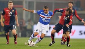 Pari nel derby di Genova, la Roma vince e scavalca l'Inter