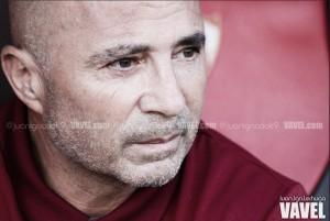 """Sampaoli: """"El equipo no paró de buscar, sometiendo al rival y eso es lo que buscamos"""""""
