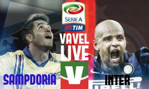 Live Sampdoria - Inter, risultato partita Serie A 2015/2016  (1-1)