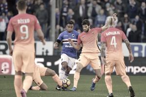 La Sampdoria termina la mala racha contra la Roma