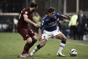 Roma empata com Sampdoria em Gênova e perde a chance de liderança