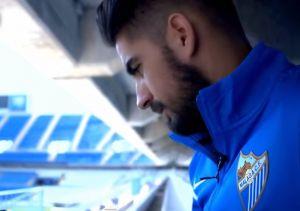 Samuel García amplía su contrato con el Málaga CF hasta la 2018/19