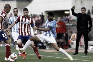 Primera lesión en el Málaga, Samu