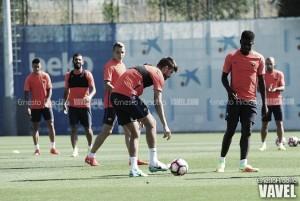 "Umtiti: ""Mi objetivo, aprender de los grandes jugadores"""