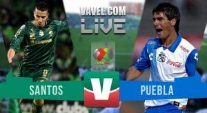 Resultado Santos Laguna vs Puebla en Liga MX 2015 (2-2)