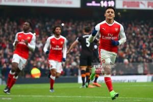 Arsenal 2-0 Hull: Alexis Sanchez double gets Gunners back to winning ways - as it happened