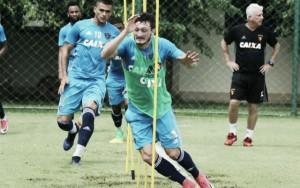 """Sander comemora nova chance de titular no Sport: """"Vou agarrar da melhor maneira"""""""