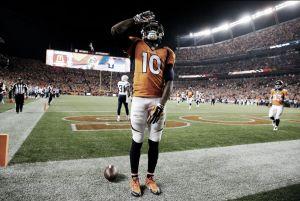 Los Broncos se imponen a los Chargers en una noche brillante de Emmanuel Sanders